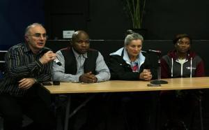 Tippa Naphtali & Panel at BURN Screening 13 Nov 2014
