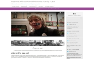 National Mikey Powell Memorial Family Fund on Crowdfunder 2 (Copy)