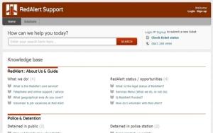 Portal - RedAlert Support